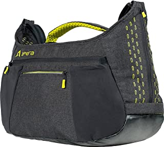 Apera Performance Duffel Antimicrobial 43L Gym Duffel Bag with Shoe Compartment and Water Resistant Base