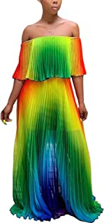 Iymoo Women Sexy Chiffon Sundress