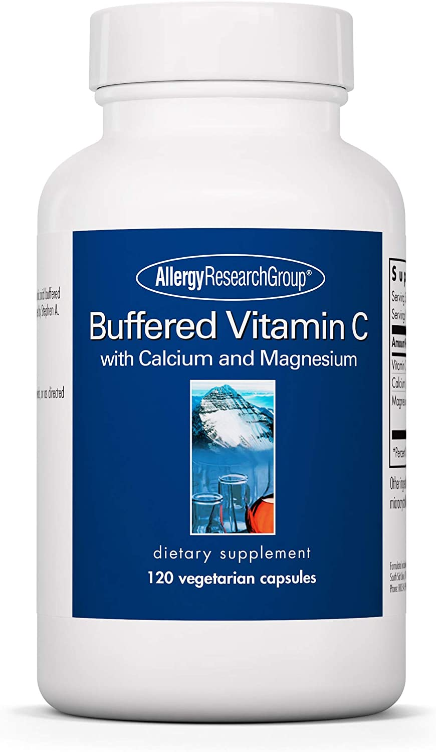Allergy Research Group - Buffered Latest item Antioxidant Immun New product Vitamin C