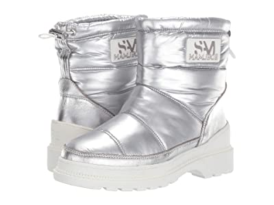 Sam Edelman Carlton (Soft Silver WP Metallic Nylon) Women