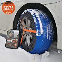 atliprime 2019 2pcs Fabric Tire Chains Auto Snow Sock (FBA-ATNSB-75)