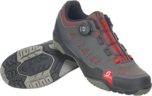 Scott Sport Crus-r Boa, Chaussures de VTT Homme, gris (Anthracite rouge 001), EU