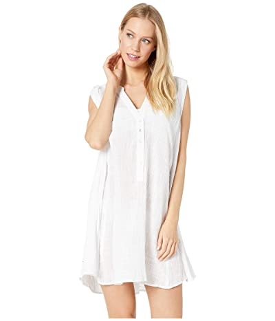 Seafolly Swing Beach Shirt Cover-Up (White) Women