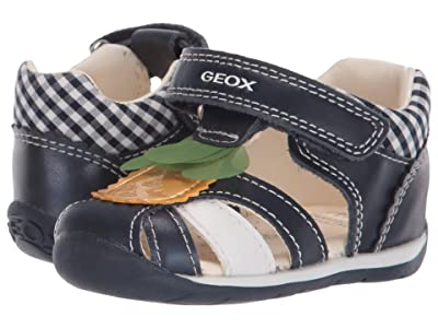 Geox Kids Each 34 (Infant/Toddler) (Navy) Girl