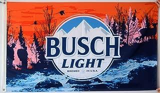 Mountfly Busch Light Sunset Hikers Flag Banner 3x5 Feet Man Cave