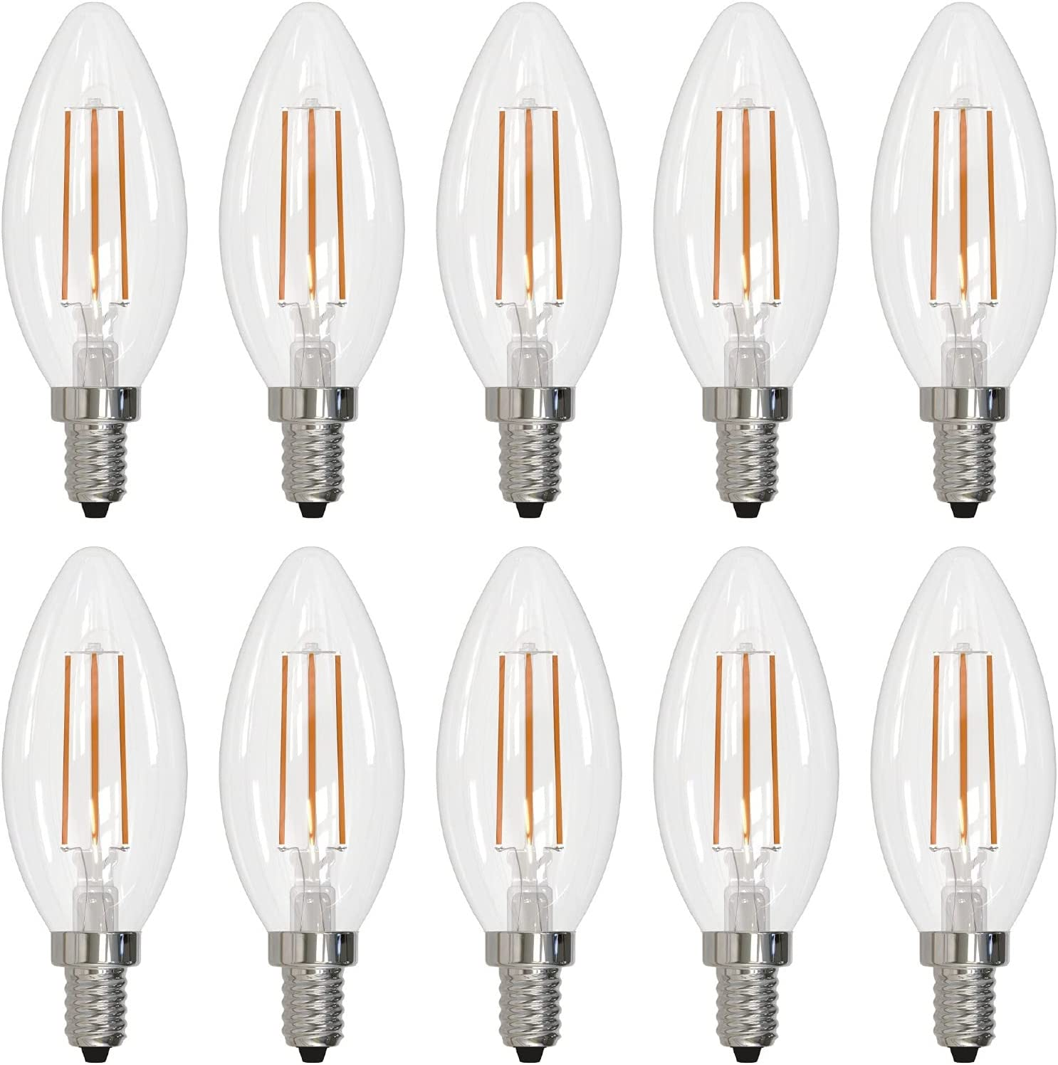 Pack Mail order of 10 Bulbrite Max 49% OFF Item Lumen Higher High Equivalency 776626