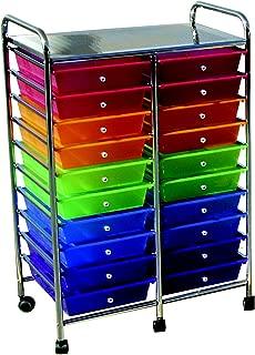 20 drawer mobile organizer