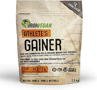 IRONVEGAN Gainer Vanilla Protein Powder, 2500 GR