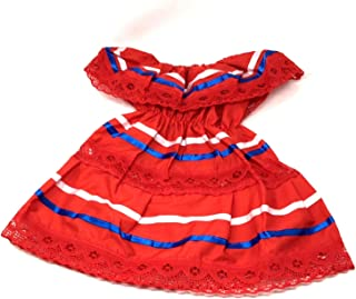 Mexican Infant Dress Size 2 Dress Color Red Day of The Dead Coco Theme Party Halloween Party