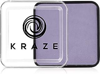 Kraze FX Square - Lichtpaarse schmink (25 g) - Hypoallergeen, niet-giftig, door water geactiveerd Professioneel gezichts- ...
