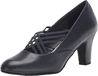 Easy Street womens Pump, Navy, 6 US