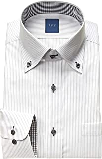 [アーヴェヴェ]形態安定加工ワイシャツ メンズ|UND106