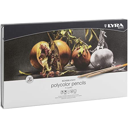 Lyra L2001720 - Scatola Metallo 72 Matite Polycolor
