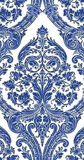 Ideal Home Range 3-Ply Paper Grandeur, 16 Count Guest Towel Napkins, Blue, Set of 2