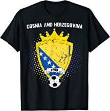 Bosnia and Herzegovina Soccer Shirt 2018 Bosnian Flag Tee
