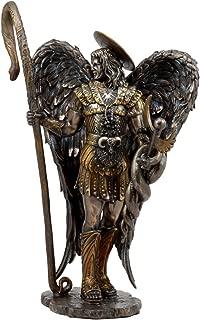 Ebros Saint Raphael The Archangel Holding Healing Staff Statue 13