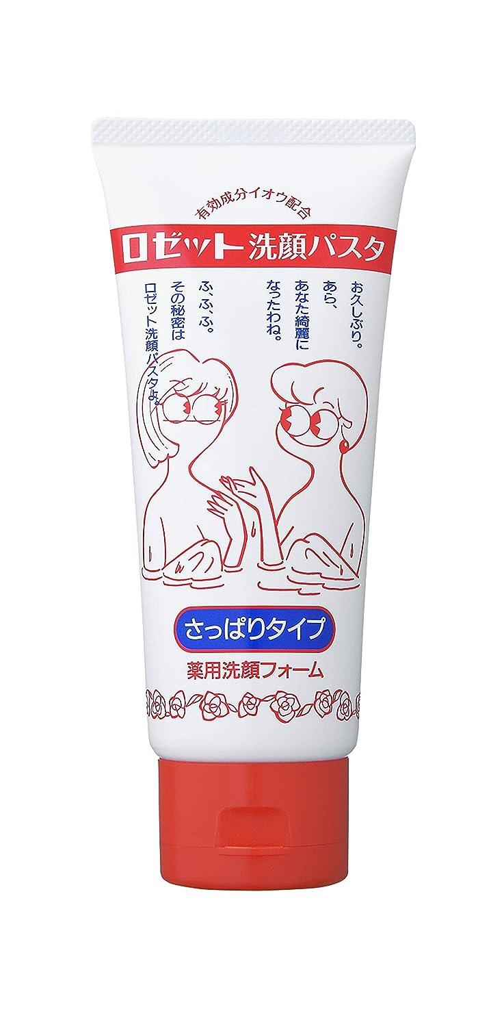 デコラティブ除去不良品ロゼット洗顔パスタさっぱりタイプ130g(医薬部外品)