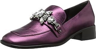 حذاء نسائي من Marc Jacobs Tilde مزخرف من الجلد الصناعي، أرجواني، مقاس 35 M EU (5 أمريكي)