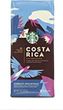 Starbucks Premium Select Collection, Costa Rica Latin American Blend Medium Roast Coffee, Whole Bean, 9 Ounce (Pack of 6)
