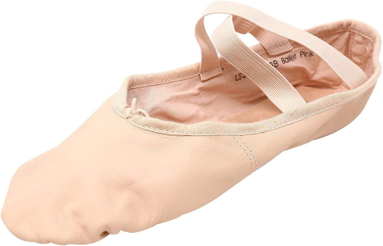 Leo Women's Ensemble Split Sole Leather Ballet Dance Slipper/Shoe