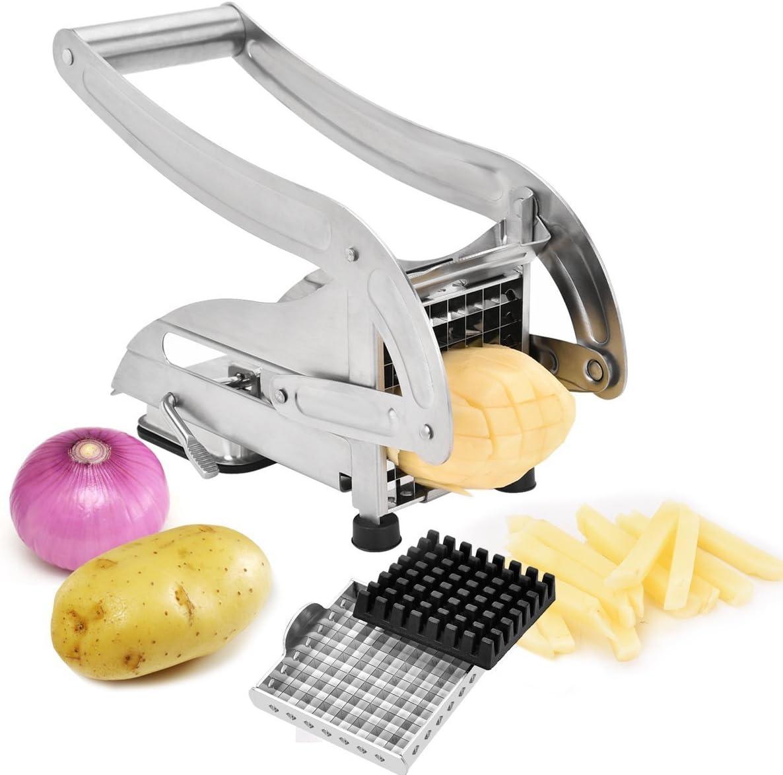 French Fry 当店一番人気 Cutter Stainless Steel 超激安特価 Vegetable Chopp Potato Slicer