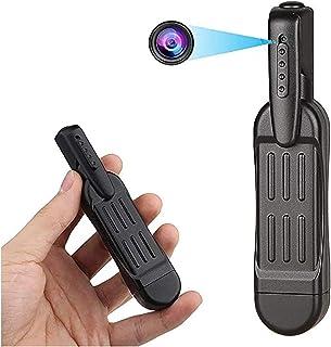 小型カメラ 隠し カメラ スパイカメラ ウェアラブル フルHD 1080P ペン型ビデオカメラ 5.5時間連続録画 撮影