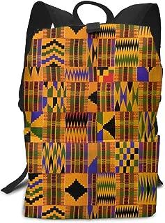 kente print backpack