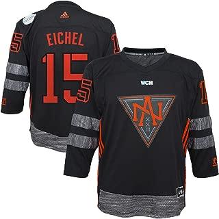 Jack Eichel North America Hockey Youth Black World Cup of Hockey Replica Player Jersey