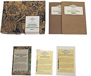 Magic Garden Seeds Variedades Raras de Tabaco - Kit Regalo de Semillas con 3 Tipos de Nicotiana