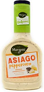 Marzetti Asiago Peppercorn Dressing, 16 oz (Pack of 3)