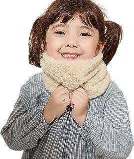 Richaa Infinity Scarf para niños, Winter Thicken Neck Warmer Scarf Pañuelo para niños Niñas Deportes al aire libre