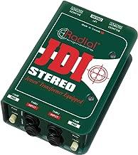 Best radial stereo passive di Reviews