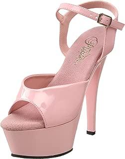 Pleaser Women's KISS-209/BP/M Platform Sandal