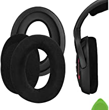 Geekria Comfort Velour Replacement Ear Pads for Sennheiser Game ONE, PC360, PC363D, PC373D Headphones Earpads, Headset Ear...