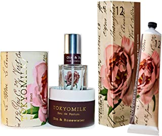 TokyoMilk Gin & Rosewater Boxed Perfume Spray with Shea Butter Lotion. Free Sample included with your purchase Eau de Parfum 1.0 fl oz