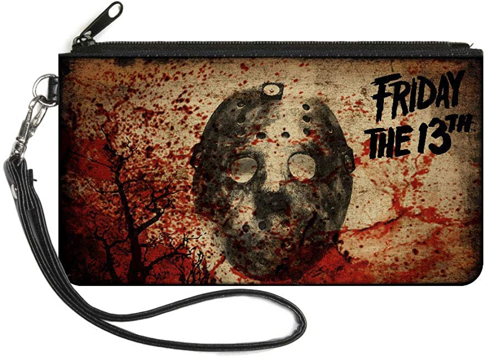 Buckle-Down Women's Zip Wallet Friday The 13th Jason Large