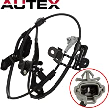 AUTEX ABS Wheel Speed Sensor Front Left 89543-35050 ALS732 compatible with Toyota 4Runner 1996 1997 1998 1999 2000 2001 2002 2.7L 3.4L/Toyota Tacoma 1998 1999 2000 2.4L 4WD 3.4L 4WD 2.7L