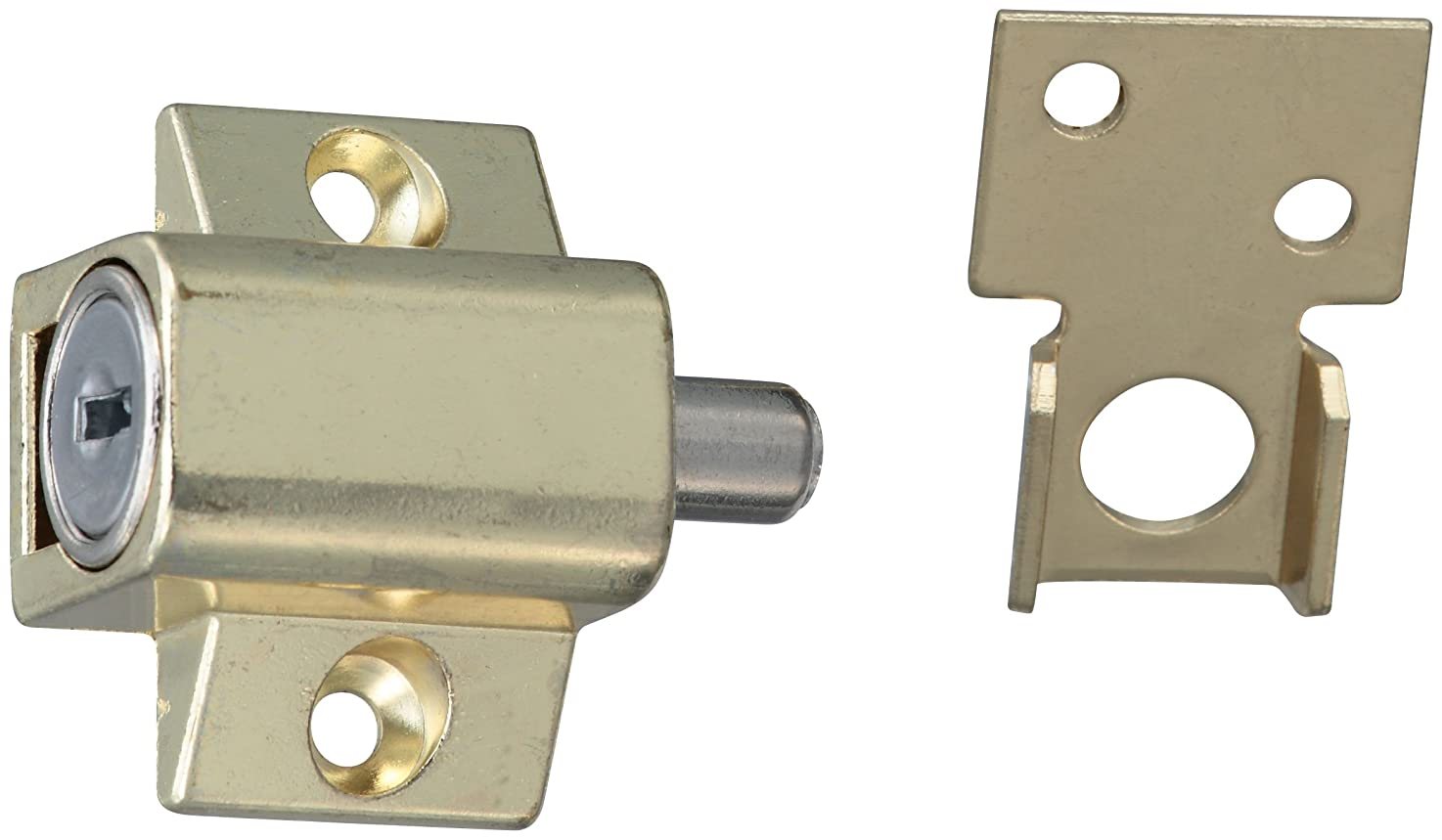 Stanley 610500 - Bright Brass(3) Window Vent Lock Guard