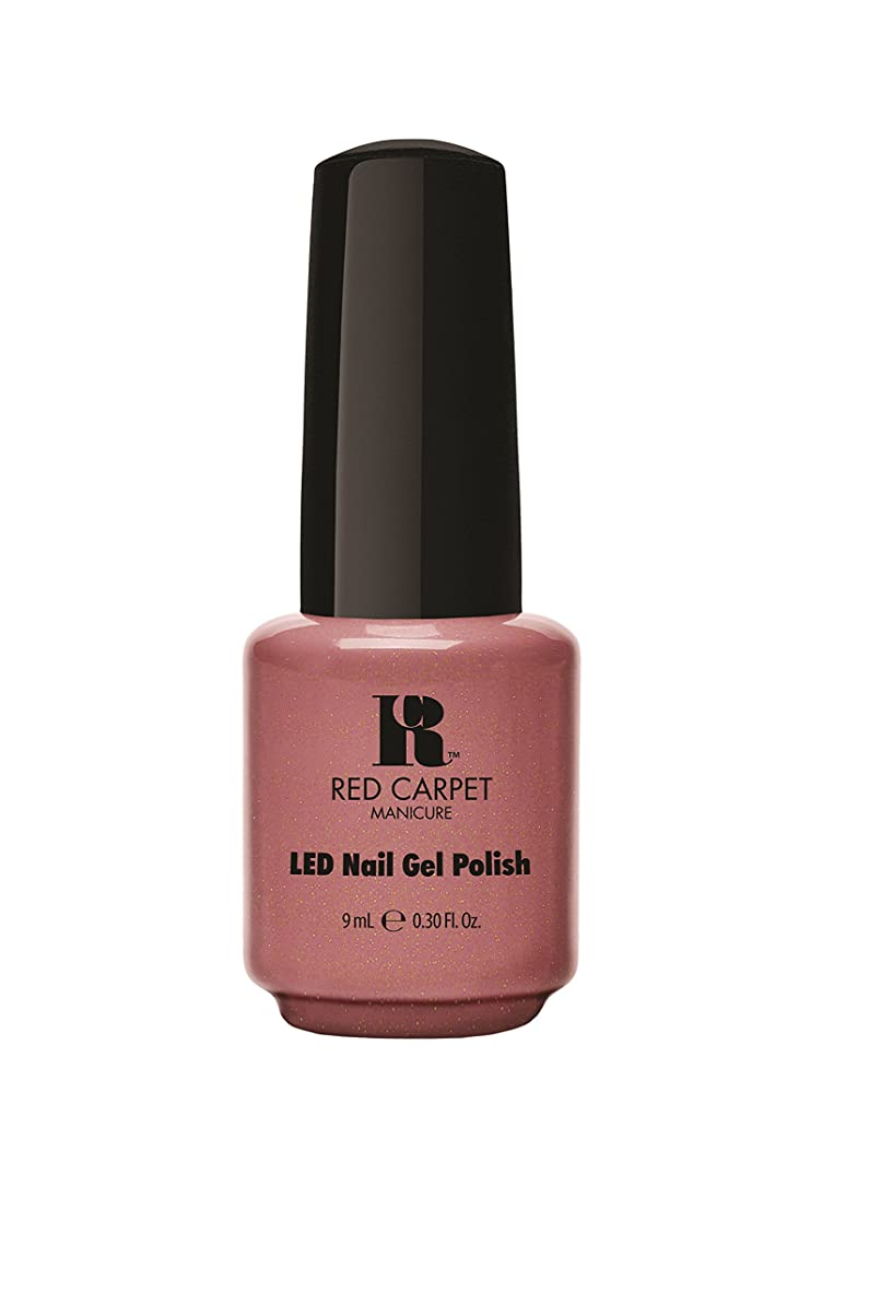 宿びっくりした故障中Red Carpet Manicure - LED Nail Gel Polish - Class Act - 0.3oz/9ml