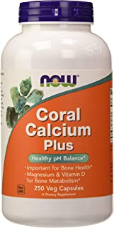 Now Foods Coral Calcium Plus. 250 Cápsulas. Pack