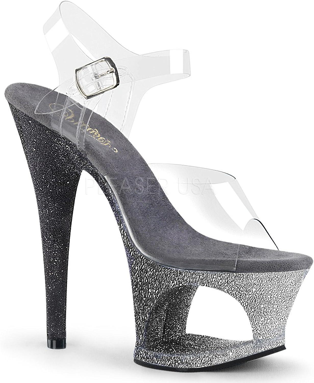 Pleaser Womens MOON-708OMBRE C EM-B Sandals