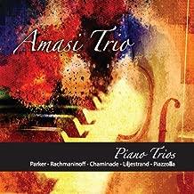 Piano Trios: Parker, Rachmaninoff, Chaminade, Liljestrand & Piazzolla