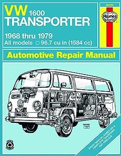 Volkswagen VW 1600 Baywindow Transporter 1584cc (68-79) Haynes Repair Manual