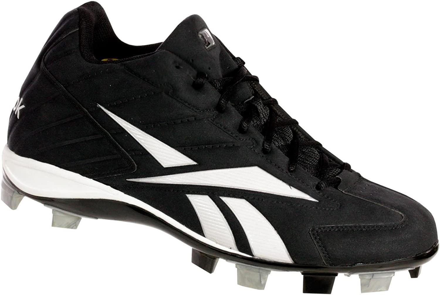 Reebok PRO HIGH N TIGHT II MID M Mens Baseball Cleats Black White 12.5 M