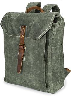 MINGMIN-DZ Mode Männer Rucksack Batik Canvas Vintage Rucksack wasserdichte Outdoor-Reisetasche College Wind Rucksack