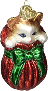 Old World Christmas Ornaments: Letting The Cat Out of The Bag Glass Blown Ornaments for Christmas Tree