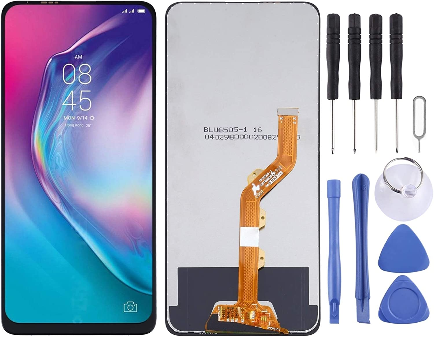 CathyHan CD8j LCD Screen Fashion and 1 year warranty Tecno Digitizer Assembly for Total