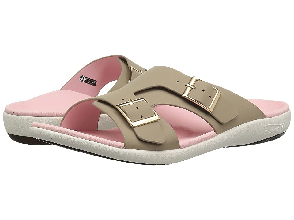 f7569474f104 Spenco Brighton Slide Sandal (Light Taupe) Women's Shoes