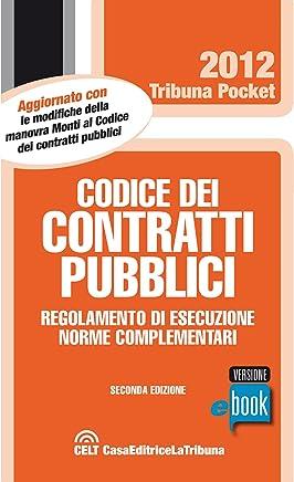 Codice dei contratti pubblici (Tribuna pocket)