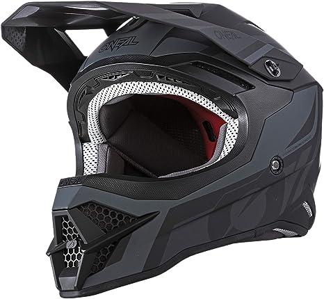 O Neal Motocross Helm Mx Enduro Motorrad Abs Schale Sicherheitsnorm Ece 22 05 Lüftungsöffnungen Für Optimale Belüftung Kühlung 3srs Helmet Hybrid Erwachsene Sport Freizeit